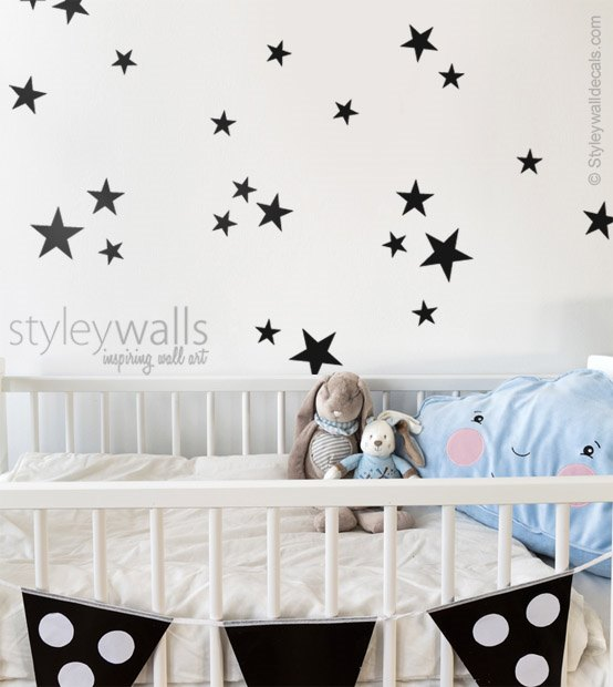 Stars Wall Decal Set