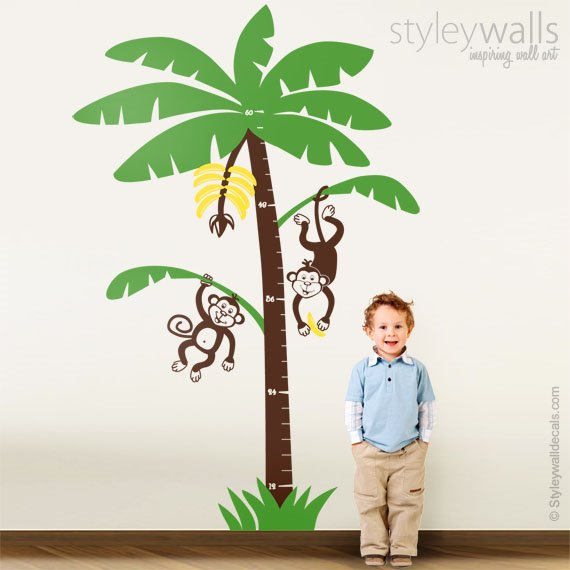 Tree and Monkeys Growth Chart