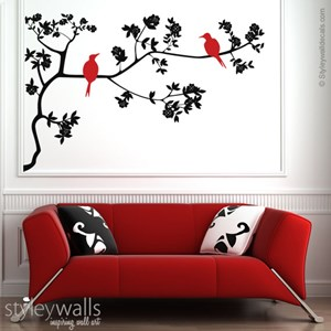Japanese Branch and Bird