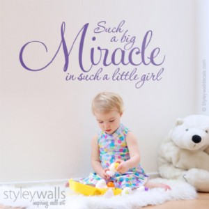 Such a Big Miracle Girl