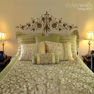 Ornate Bed Headboard