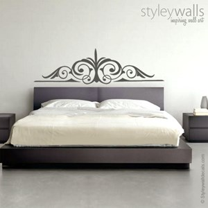 Swirly Bed Headboard