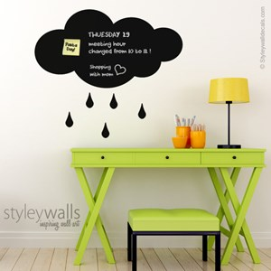 Rain Cloud Chalkboard